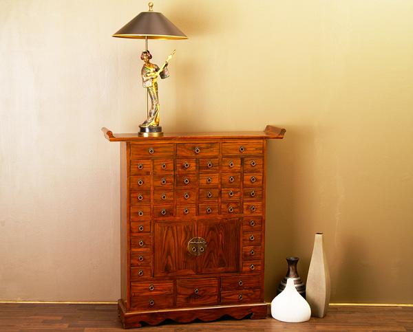 chinesischer schrank apothekerschrank medizinschrank ebay. Black Bedroom Furniture Sets. Home Design Ideas