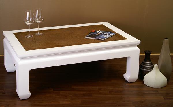 opiumtisch couchtisch chinesische m bel tisch weiss 313 ebay. Black Bedroom Furniture Sets. Home Design Ideas