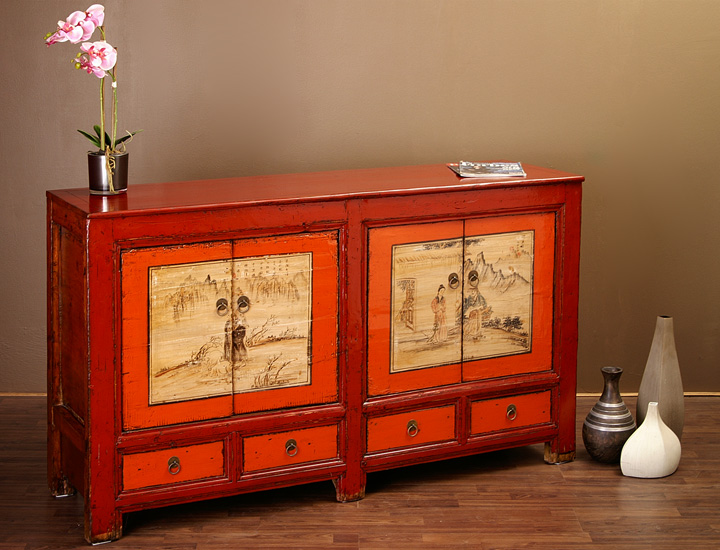 antikes chinesisches sideboard chinesische m bel buffet ebay. Black Bedroom Furniture Sets. Home Design Ideas