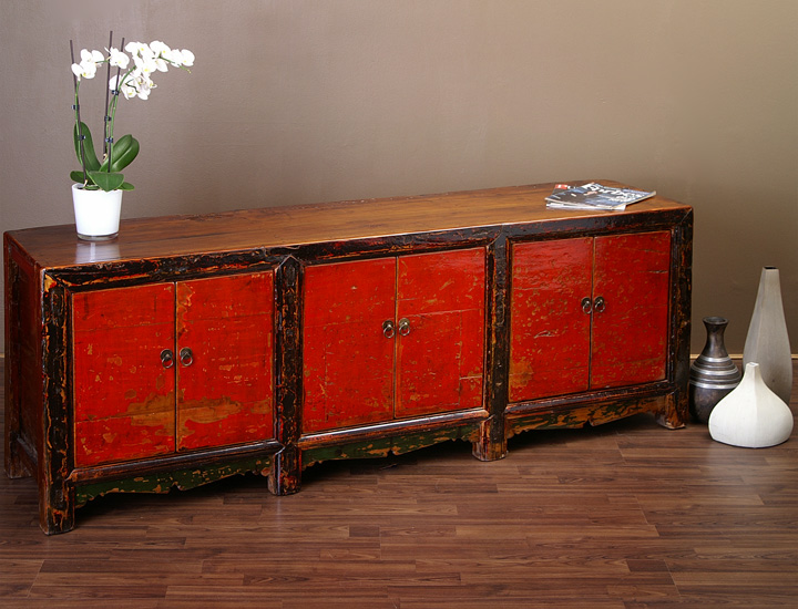 antikes chinesisches sideboard 179cm china mobel lowboard antik ebay. Black Bedroom Furniture Sets. Home Design Ideas