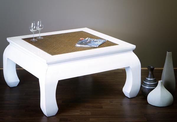 opiumtisch couchtisch chinesische m bel tisch creme weiss tee tisch ebay. Black Bedroom Furniture Sets. Home Design Ideas