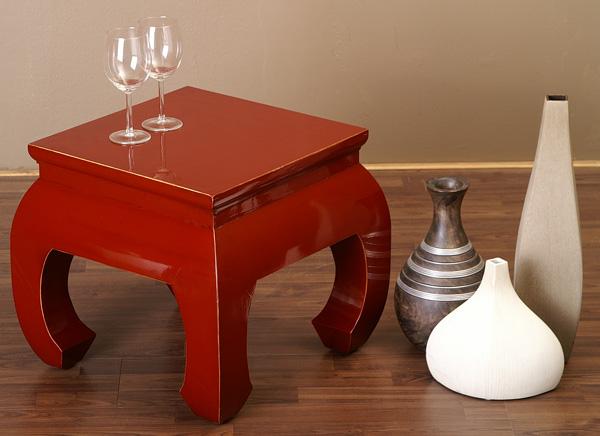 opiumtisch couchtisch chinesische m bel tisch rot tee tisch ebay. Black Bedroom Furniture Sets. Home Design Ideas