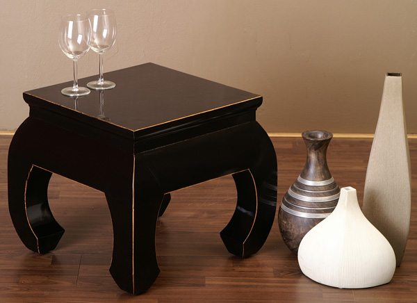 opiumtisch couchtisch chinesische m bel tisch schwarz tee tisch ebay. Black Bedroom Furniture Sets. Home Design Ideas