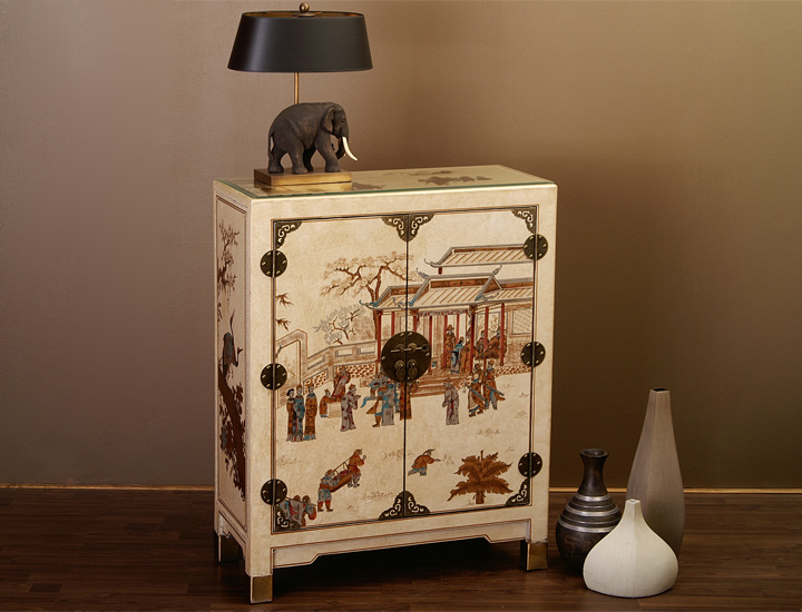 chinesische dvd cd kommode schrank chinesisches sideboard china rot 661d. Black Bedroom Furniture Sets. Home Design Ideas