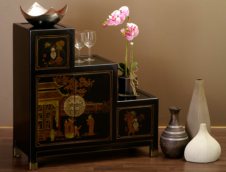 chinesische treppenkommode stufenschrank kommode. Black Bedroom Furniture Sets. Home Design Ideas