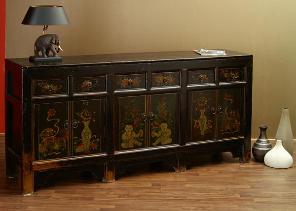 chinesisches sideboard china board m bel chinam bel buffet anrichte chinaboard ebay. Black Bedroom Furniture Sets. Home Design Ideas