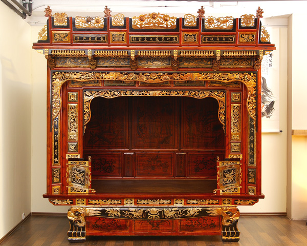 chinesisches opium bett antik opiumbett china asiatika ebay. Black Bedroom Furniture Sets. Home Design Ideas