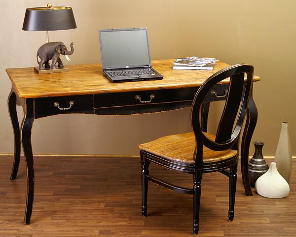 Schreibtisch tisch landhaus m bel louis stil barock ebay for Schreibtisch landhaus